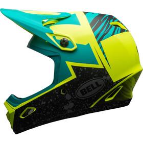 Bell Transfer-9 Fullface Helm matte retina sear/emerald